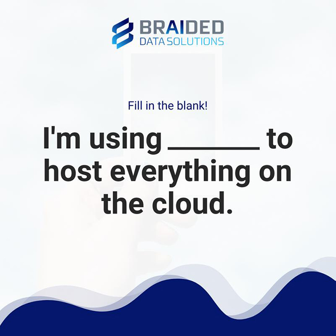 what are you using to host everything on the cloud?