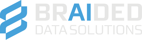 Braided Data Logo - AI